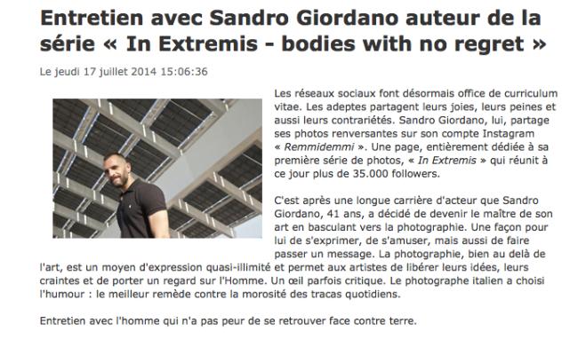 """162) """"ACTUPHOTO"""" (France) 17 luglio 2014 (1)"""