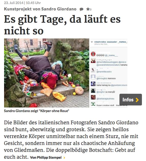 """174) """"RHEINISCHE POST"""" (Germany) 23 luglio 2014 (1)"""