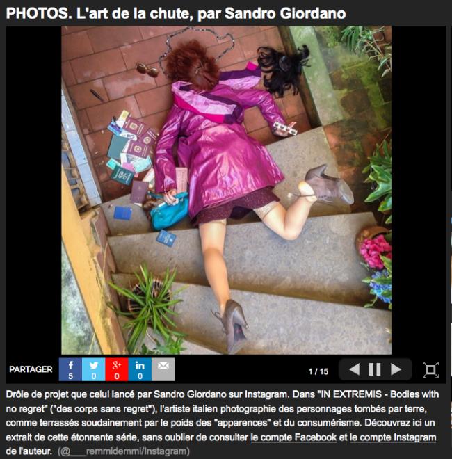 """51) """"LE NOUVEL OBSERVATEUR"""" (France) 24 giugno 2014"""