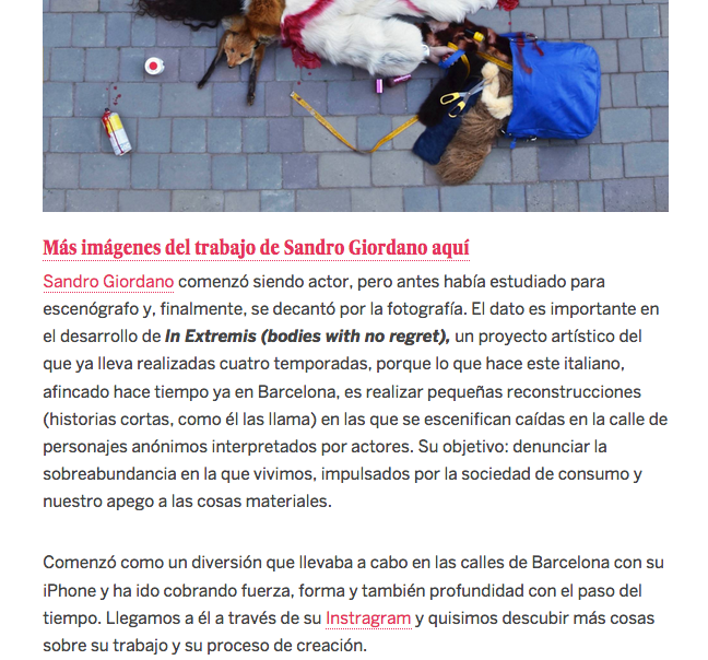 """735) """"EL PAÍS"""" (Spain) 23 novembre 2017 (2)"""