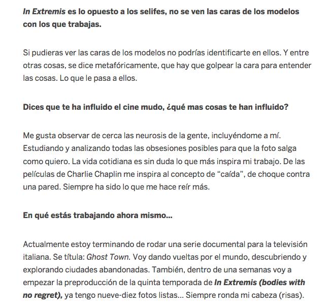"""735) """"EL PAÍS"""" (Spain) 23 novembre 2017 (8)"""