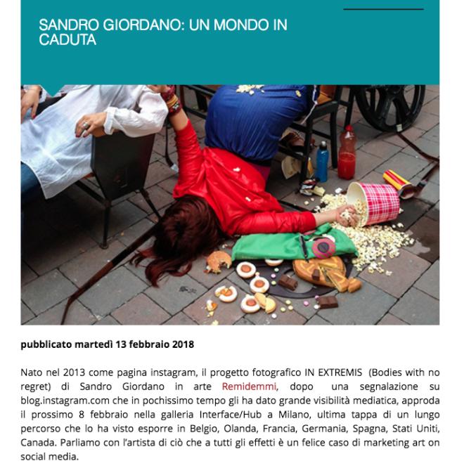 """752) """"EXIBART"""" (Italia) 13 febbraio 2018 (1)"""