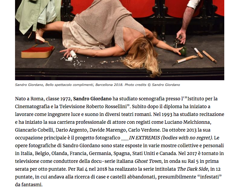 """868) """"ARTRIBUNE"""" (Italia) 5 settembre 2019 (2)"""